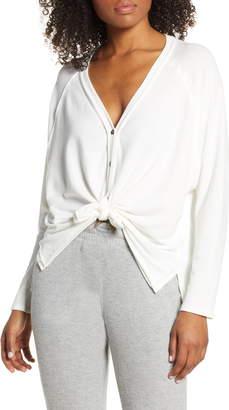 Project Social T Keara Tie Front Cardigan