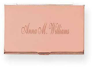 Mark And Graham Metal Business Card Case