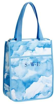 Pottery Barn Teen Gear-Up Blue Clouds Tote Lunch Bag
