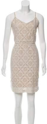 Joie Sleeveless Lace Dress