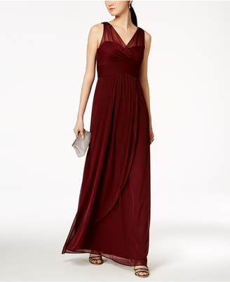 Wine Colored Evening Dresses Shopstyle