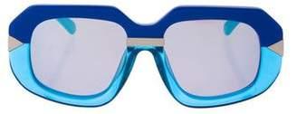 Karen Walker Hollywood Creeper Sunglasses w/ Tags