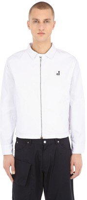 Jacquemus La Veste J Cotton Blend Jacket