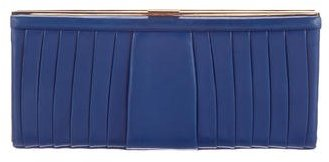 Christian Louboutin  Christian Louboutin Pleated Leather Clutch