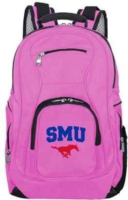 NCAA Mojo Licensing Southern Methodist Mustangs Pink Premium Laptop Backpack