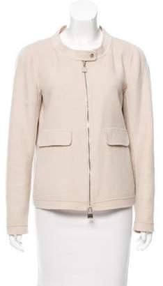 Max Mara 'S Wool & Angora Blend Jacket