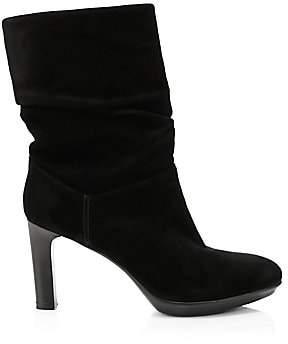 Aquatalia Women's Raegan Slouchy Suede Boots