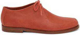 Mansur Gavriel Vegetable Tanned Lace Up Oxford - Brandy