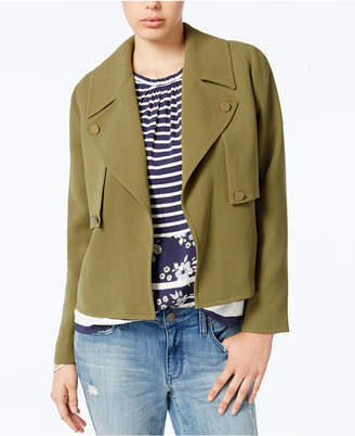 Maison Jules Trench Jacket, Created for Macy's $89.50 thestylecure.com