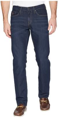 U.S. Polo Assn. Slim Straight Jeans in Dark Blue Overdye Men's Jeans