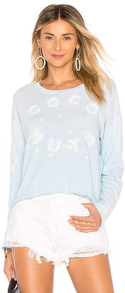 Sundry Coconuts Cropped Sweatshirt