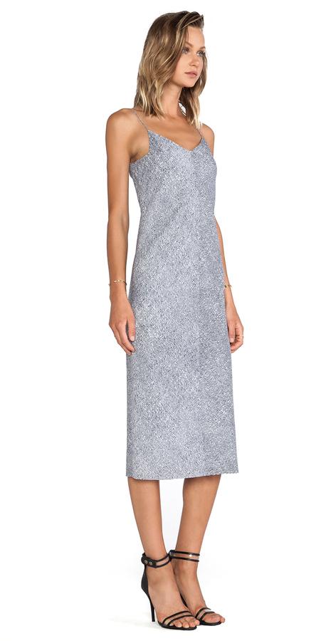 Alexander Wang Silk Georgette Slip Dress