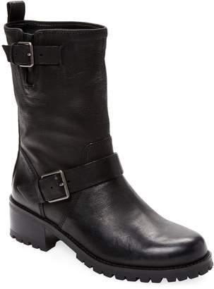 Cole Haan Women's Hemlock Leather Moto Boot