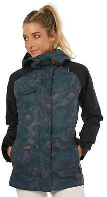Dakine New Women's Canyons Ii Womens Jacket Mesh Black