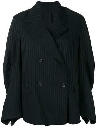 Nehera double-breasted striped jacket