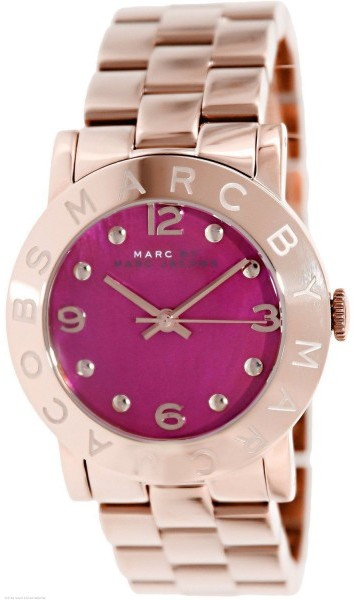 Marc By Marc JacobsMarc by Marc Jacobs Amy MBM8625 Rose Gold-Tone Stainless Steel 36mm Watch