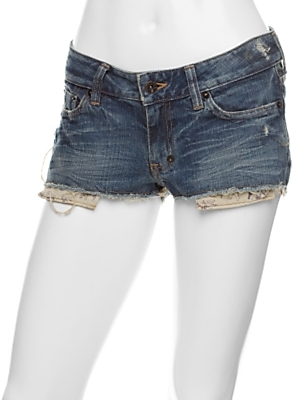 Prps Cut Off Denim Shorts