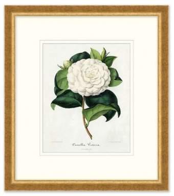 Bed Bath & Beyond Vintage Flower Wall Art in White