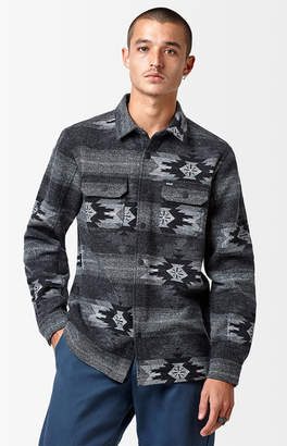 Hurley x Pendleton Flannel Long Sleeve Button Up Shirt