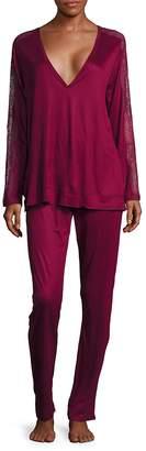 La Perla Women's Charisma Solid Pajamas