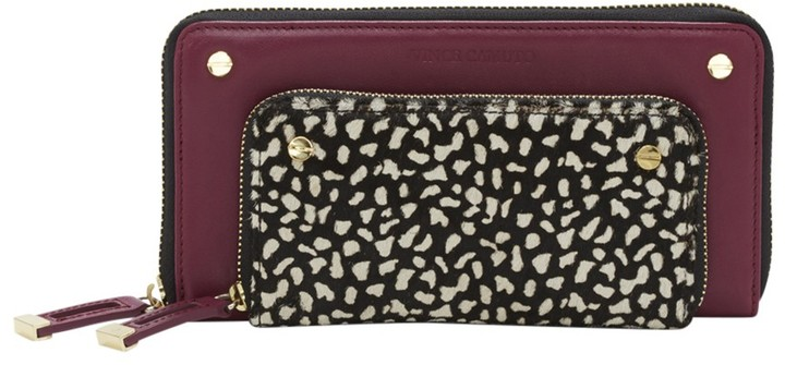 Vince Camuto Fiona Check Book Wallet