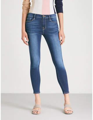 Frame Le Skinny De Jeanne slim-fit straight high-rise jeans