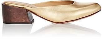 Mari Giudicelli Women's Leblon Leather Mules - Gold
