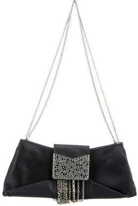 Judith Leiber Satin Embellished Bag $275 thestylecure.com