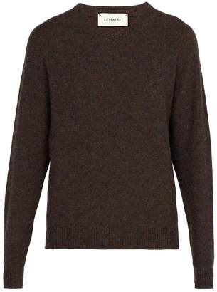 Lemaire Seamless V-neck wool sweater
