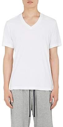James Perse Men's Cotton Jersey V-Neck T-Shirt - White