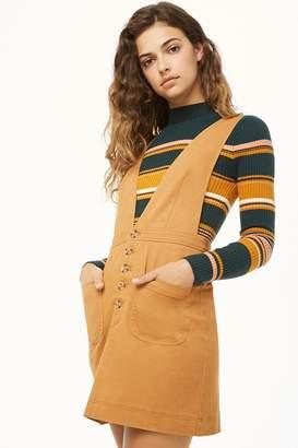 Forever 21 Pinafore Mini Dress
