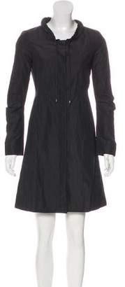 Diane von Furstenberg Knee-Length Long Sleeve Dress