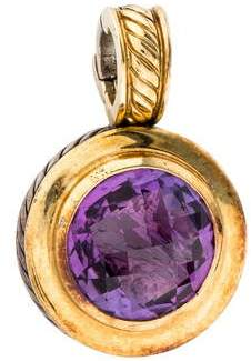 David Yurman Amethyst Albion Enhancer Pendant