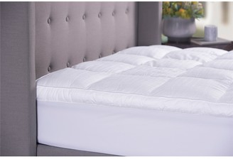 Sanctuary Sheraton Fitted 800 gsm Mattress Topper Queen Bed