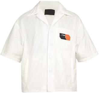 Prada Padded short-sleeved shirt