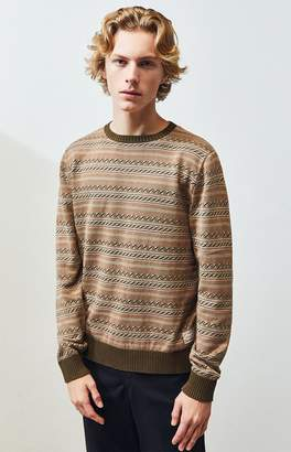 rhythm Vibrations Crew Neck Sweater