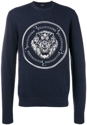 Billionaire 'Lion' sweater