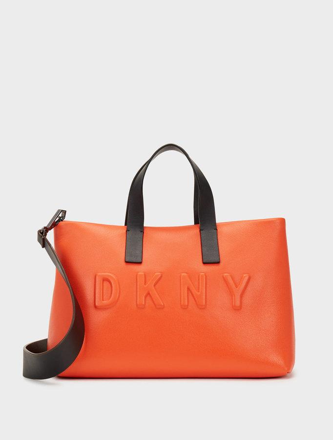 DKNYDebossed Logo Shoulder Bag