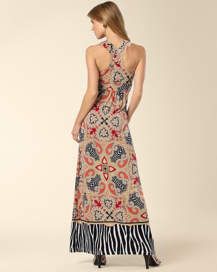 Soma Intimates Cross Strap Desire Maxi Dress