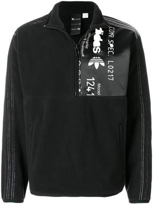 adidas By Alexander Wang half zip fleece sweatshirt