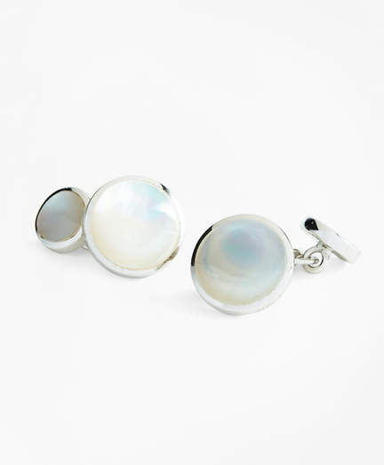 Brooks Brothers Mother-of-Pearl Cuff Links