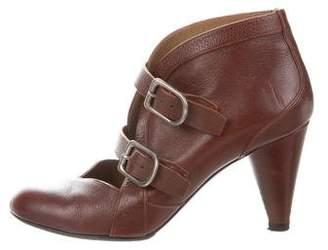Sonia Rykiel Buckle Ankle Boots