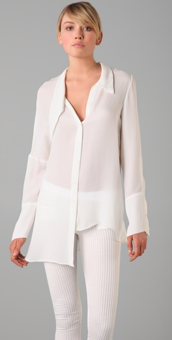 Kimberly Ovitz Sawyer Asymmetrical Shirt