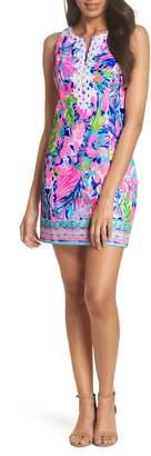 Lilly Pulitzer R) Gabby Tropical Print Dress