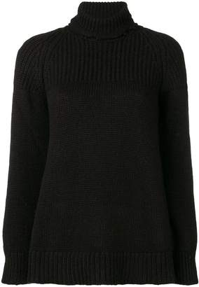 Dondup ribbed turtle neck jumper