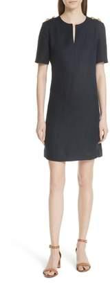 Tory Burch Hillary Linen A-Line Dress