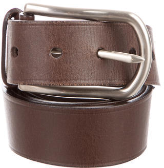 prada Prada Leather Waist Belt