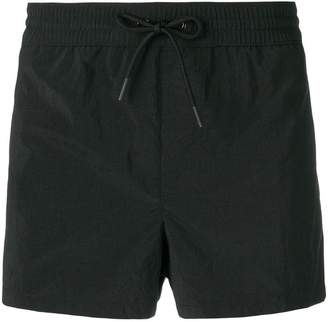 Versace side logo stripe swimming shorts