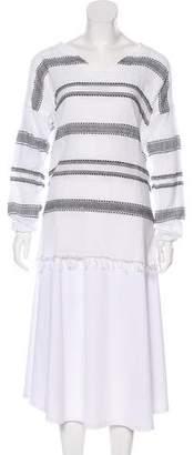 Lemlem Embroidered Long Sleeve Top