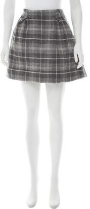 Thakoon Addition Plaid Mini Skirt w/ Tags